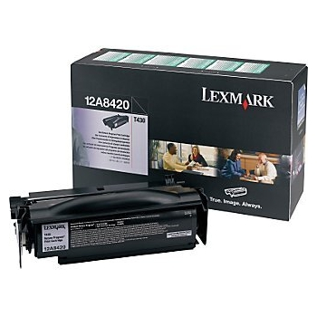 Cartus Toner Lexmark 12A8420 Black Return Program 6000 pagini for Optra T430