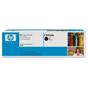 Cartus Toner HP Nr. 822A Black 25000 Pagini for Color LaserJet 9500 C8550A