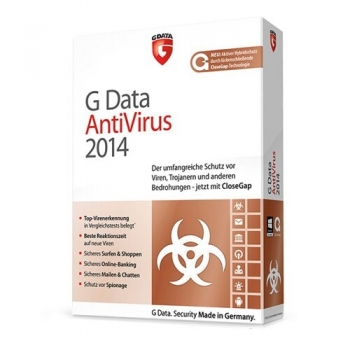 G Data Antivirus 2014 ESD Electronic 3 Calculatoare 1 An