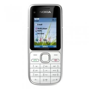 Telefon Mobil Nokia C2-01 Warm Silver 3G NOKC2-01SV