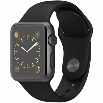 Ceas SmartWatch Apple Watch Sport 38mm Aluminiu Black MJ2X2LL