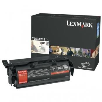 Cartus Toner Lexmark T650A21E Black 7000 pagini for T650, T652, T654