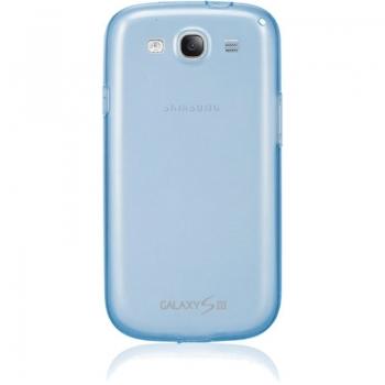 Husa Samsung pentru i9300 Galaxy S III Blue EFC-1G6WBECSTD
