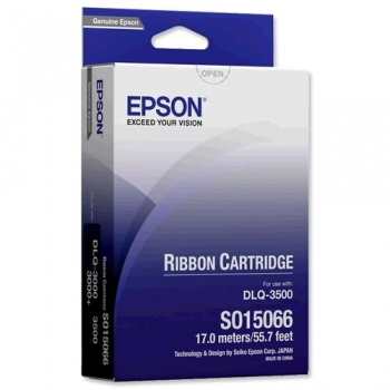Ribbon Epson C13S015066 Black for Epson DLQ-3000, DLQ-3000+, DLQ-3500