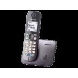 TG6811FXM, telefon DECT, Design inteligent, culori in 2 tonuri, Ecran LCD de 1,8 inch cu lumina de fundal alba, functie de reducere a zgomotului de fundal, posibilitate de partajare a agendei, posibilitate de blocare a apelurilor nedorite, sistem de back-