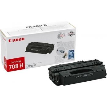 Cartus Toner Canon CRG-708 Black 2500 Pagini for LBP 3300, LBP 3360 CR0266B002AA
