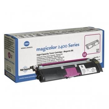 Cartus Toner Konica Minolta A00W232 Magenta 4500 pagini for 2400W, 2430DL, 2450, 2450D, 2450DX, 2480MF, 2490MF, 2500W, 2530DL, 2550, 2550DN, 2550N, 2590MF