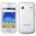 "Telefon Mobil Samsung Galaxy Gio S5660 White Silver 3.2"" 320 x 480 800MHz Camera Foto 3.15MPx Android v2.2 SAMS5660WHT"