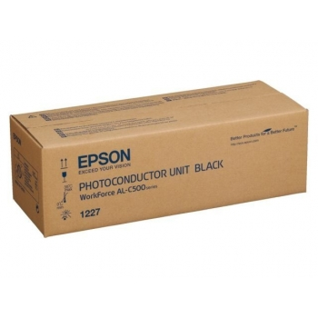Unitate Cilindru Epson C13S051227 Black 50000 Pagini for WorkForce AL-C500DHN, AL-C500DN, AL-C500DTN, AL-C500DXN
