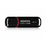 Memorie USB ADATA DashDrive Value UV150 64GB USB 3.0 Black AUV150-64G-RBK