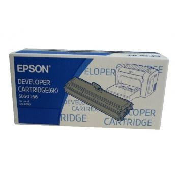 Cartus Toner Epson C13S050166 Black 6000 Pagini for EPL 6200, EPL 6200N