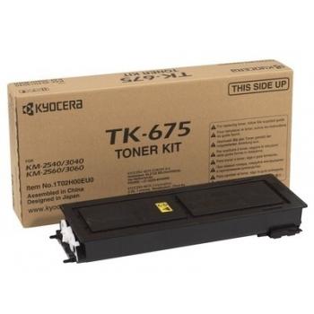 Cartus Toner Kyocera TK-675 Black 20000 Pagini for KM-2540, KM-2560, KM-3040, KM-3060
