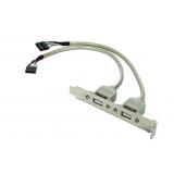 Bracket Gembird USB Receptacle 25cm CCUSBRECEPTACLE