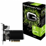 Placa Video Gainward nVidia GeForce GT 710 SilentFX 2GB GDDR3 64bit PCI-E x16 .0 Low Profile VGA DVI HDMI NEAT7100HD46-2080H