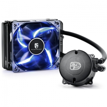 Sistem de racire CPU cu lichid Deepcool Maelstrom 120T socket Intel&AMD Radiator 154 x 120 x 27 Ventilatoare 1x 120mm DP-MAEL120T