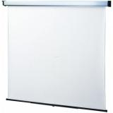 Ecran de proiectie montabil pe perete Sopar New Slim 200*150cm(4:3), Mecanism de blocare, White, 2201SL