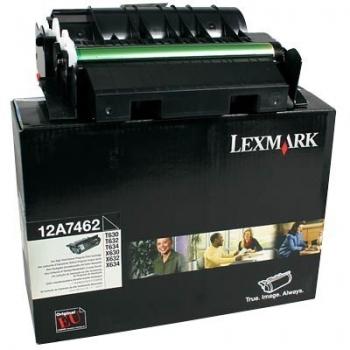 Cartus Toner Lexmark 12A7462 Black 21000 pagini for Optra T630, X630, T632, T634, X632