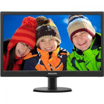 "Monitor LED Philips 18.5"" V-Line 193V5LSB2 1366x768 VGA 193V5LSB2/10"