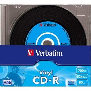 VERBATIM CD-R 48X 700MB DATA VINYL