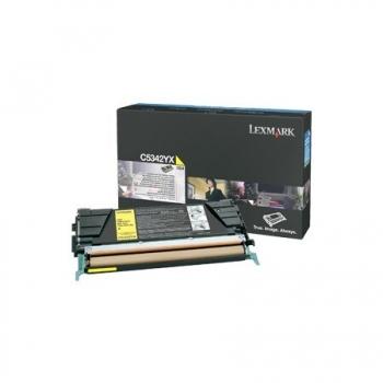 Cartus Toner Lexmark C5342YX Yellow Extra High Yield 7000 pagini for C534DN, C534DTN, C534N