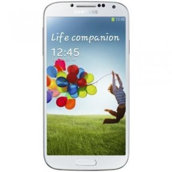 "Telefon Mobil Samsung Galaxy S4 i9505 White Frost 4G 5"" 1080 x 1920 Quad Core 1.9GHz memorie interna 16GB Camera Foto 13MPx Android v4.2 SAMI9505WF16GB"