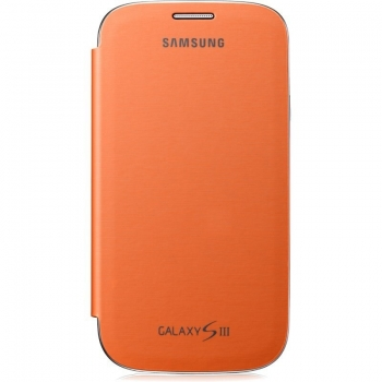 Husa Samsung Flip Cover pentru i9300 Galaxy S III Orange EFC-1G6FOECSTD