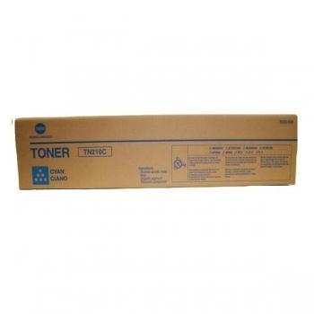 Cartus Toner Konica Minolta TN-210C Cyan 12000 pagini for Minolta Bizhub C250, C250P, C252, C252P 8938-512