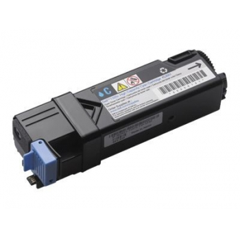 Cartus Toner Dell FM065 / 593-10321 Cyan 2500 Pagini for Dell 2130CN, 2135CN