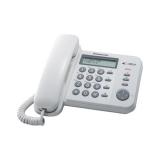 Telefon analogic Panasonic KX-TS560FXW alb