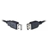 Cablu Prelungitor USB Gembird CCP-USB2-AMAF-15C USB 2.0 bulk 5m
