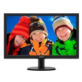 "Monitor LED Philips 23.6"" 243V5QHSBA Full HD VA 1920x1080 VGA DVI HDMI"
