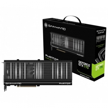 Placa Video Gainward nVidia GeForce GTX 770 Phantom 2GB GDDR5 256bit PCI-E x16 3.0 2xDVI HDMI DisplayPort 426018336-2951