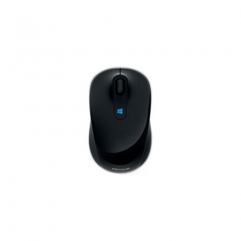 Mouse Wireless Microsoft Sculpt Mobile BlueTrack 1000 dpi 3 butoane black 43U-00003