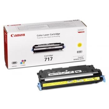 Cartus Toner Canon CRG-717Y Yellow 4000 Pagini for MF 8450 CR2575B002AA