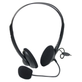 Casti A4tech HS-10 cu microfon si control de volum Black