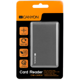USB 2.0 Multi Card Reader, Slim  and compact design easy to carry around