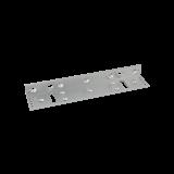 Suport inoxidabil din duraluminiu Pentru montarea electromagnetilor SM-280LEDA la usi cu tocul ingust