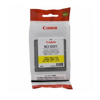 Cartus Cerneala Canon BCI-1201Y Yellow 80ml for Canon N1000, N2000 7340A001AA