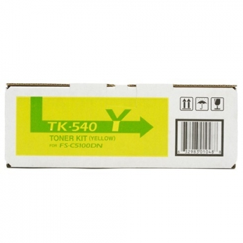 Cartus Toner Kyocera TK-540Y Yellow 4000 Pagini for Kyocera Mita FS-C5100DN