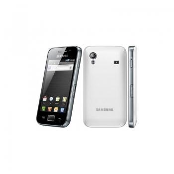 "Telefon Mobil Samsung Galaxy Ace S5830 Ceramic White 3.5"" 320 x 480 S5830 ARM 11 832Mhz Camera Foto 5MPx Android v2.3 SAMS5830CW"