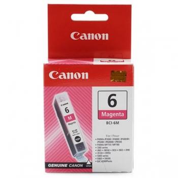 Canon RO BJ CARTRIDGE BCI-6M MAG, M agenta BJ Inkt