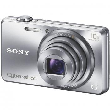 Camera Foto Digitala Sony Cyber-Shot DSC-WX200 18MP Zoom Optic 10x OIS WiFi Silver DSCWX200S.CE3