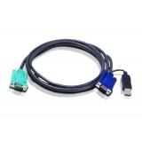 Cablu KVM Aten 2L-5202U USB 1.8m
