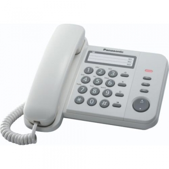Telefon analogic Panasonic KX-TS520FXW alb