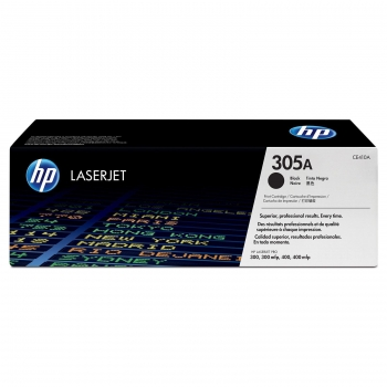 Cartus Toner HP Nr. 305A Black 2200 Pagini for LaserJet Pro 300 M375NW, 400 M475DN, 300 M351A, 400 M451DN CE410A