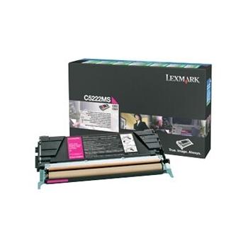 Cartus Toner Lexmark C5222MS Magenta 3000 pagini for C522N, C524, C524DN, C524DTN, C524N, C530DN, C532DN, C532N, C534DN, C534DTN, C534N