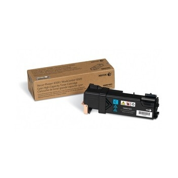 Cartus Toner Xerox 106R01601 Cyan High Capacity 2500 pagini for Phaser 6500, WorkCentre 6505