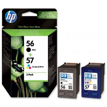 Pachet Cartuse Cerneala HP Nr. 56/57 for Deskjet 450, HP Deskjet 5550, HP Deskjet 9650, HP Deskjet 9680gp SA342AE
