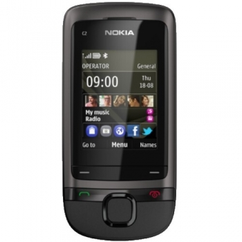 Telefon Mobil Nokia C2-05 Dynamic Gray NOKC2-05