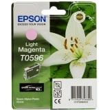 Cartus Cerneala Epson T0596 Light Magenta 13ml for Stylus Photo R2400 C13T05964010